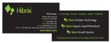 Hibrix Business Cards