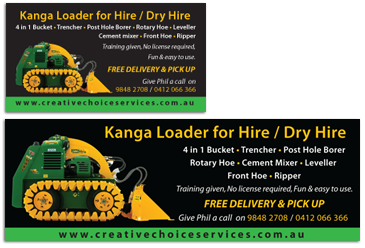 Kanga Hire Works