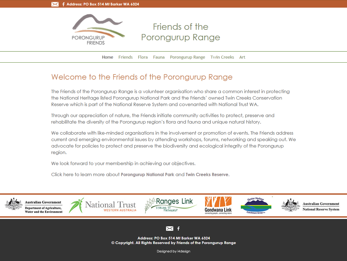 Friends of the Porongurup Range