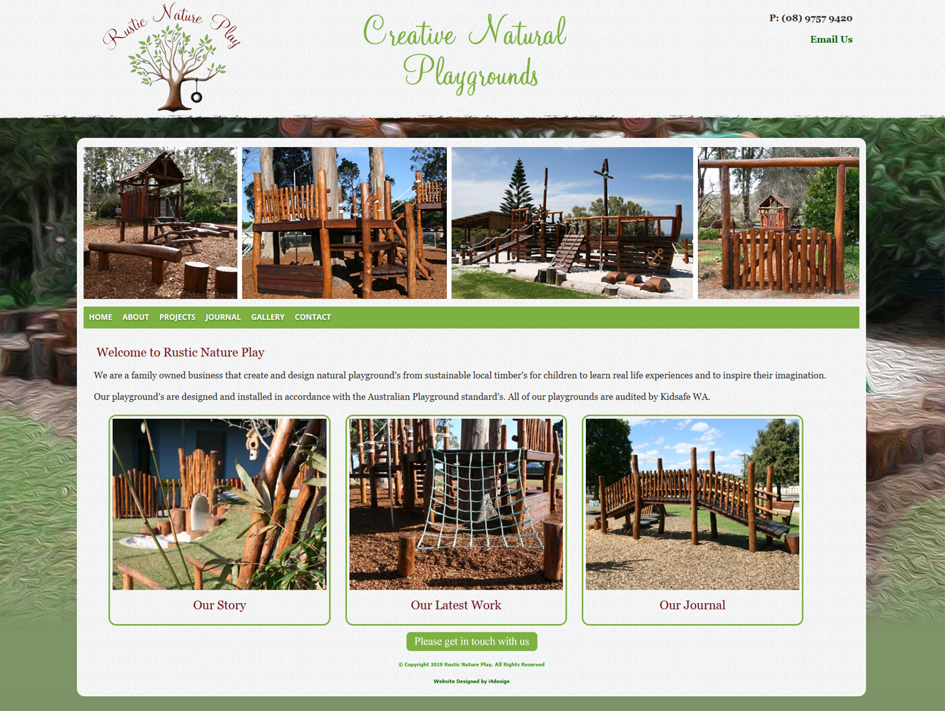 Rustic Nature Play