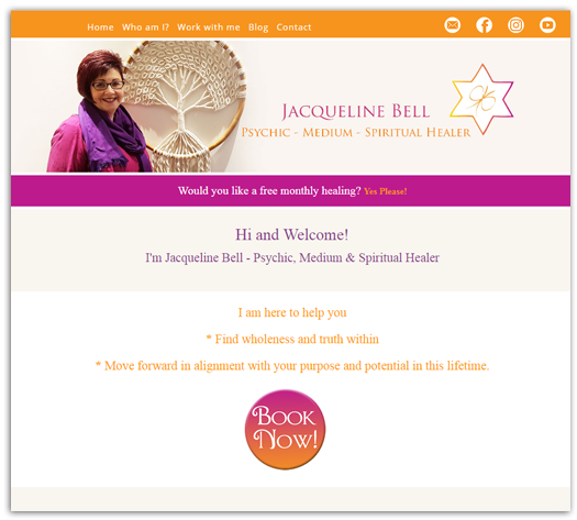 Journey to the Soul Website