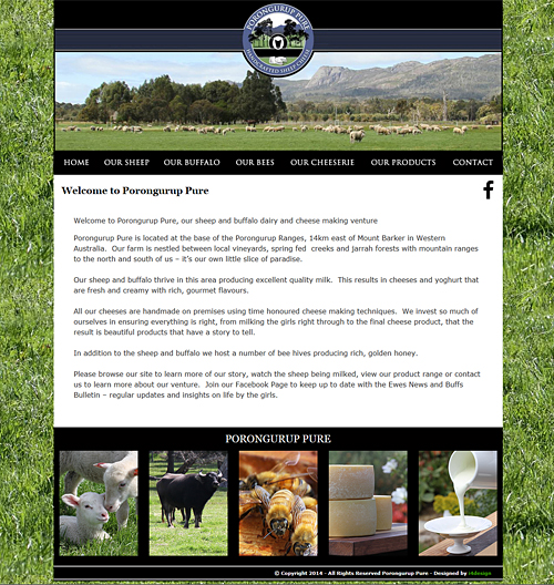Porongurup Pure Website